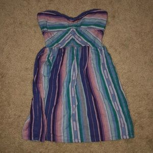 Roxy strapless beach dress